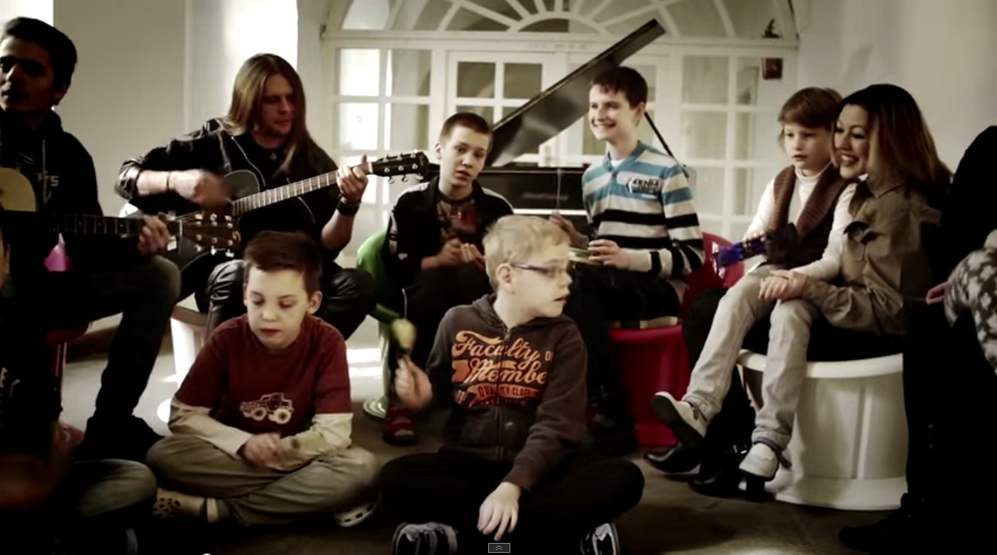Our new music video!  A song for the autism, Playing With Angels just released!