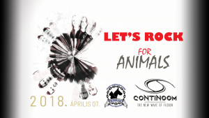 Let's rock for the animals