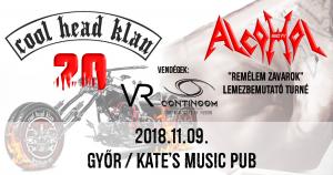 Alcohol Turné, Győr