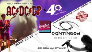 Continoom, 4OZ, AC/DC/GP