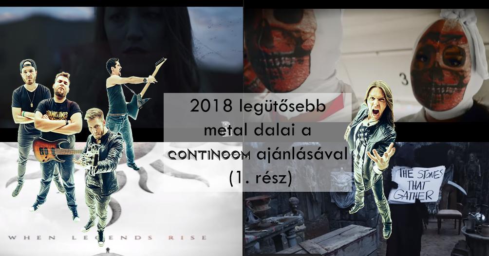 Continoom ajánló – 2018 legütősebb metal dalai (1. rész)